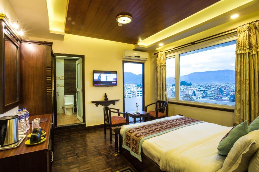 A room at Hotel Encounter Nepal & Spa
