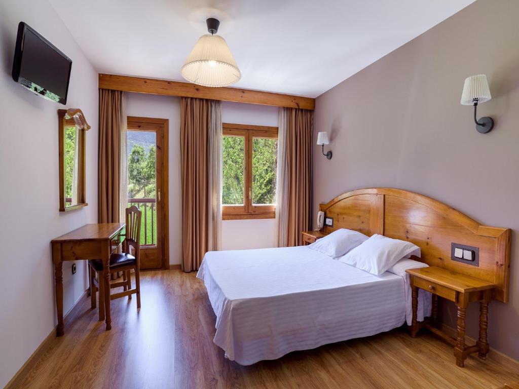 Una habitación en Hotel Sant Miquel
