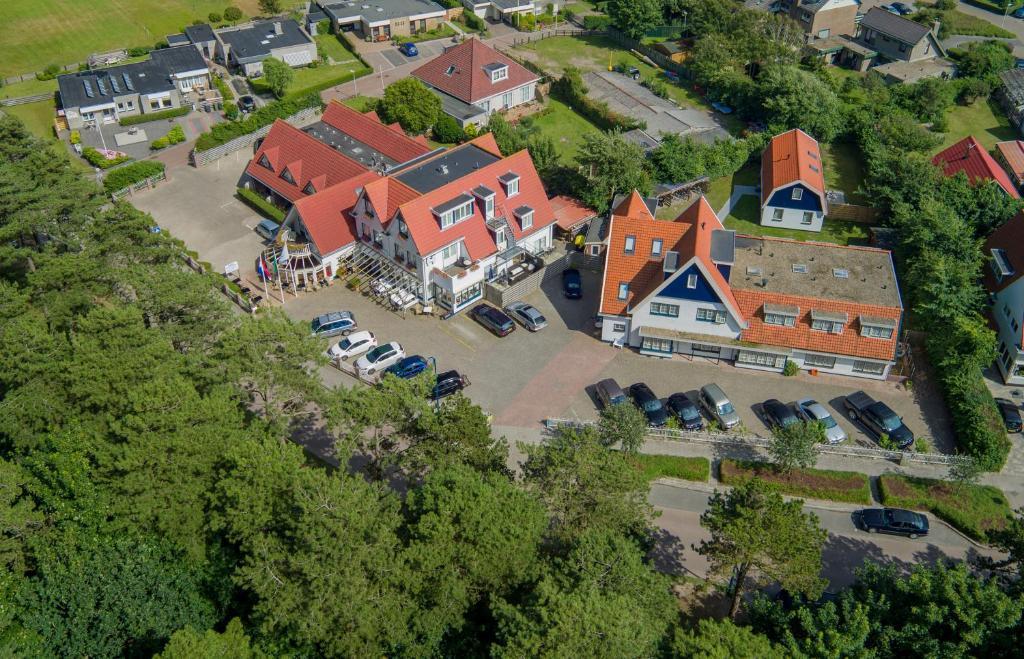 Vue panoramique sur l'établissement Het Uilenbos