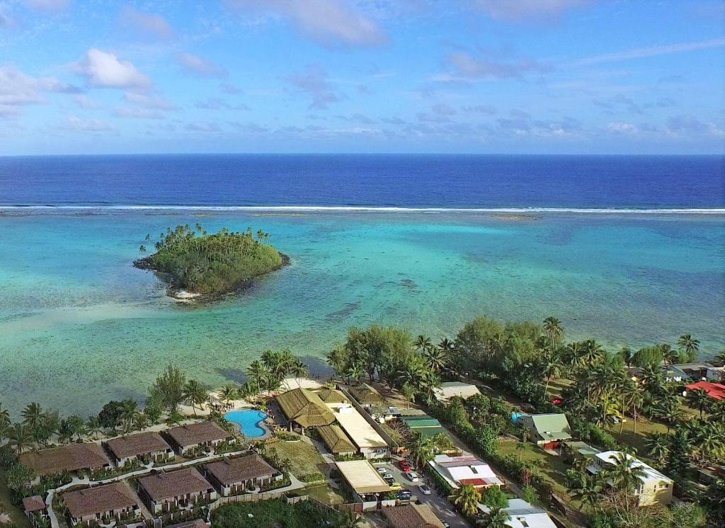 A bird's-eye view of Nautilus Resort