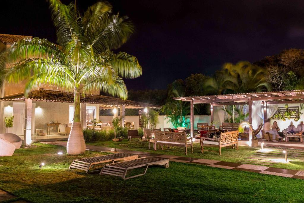 Uma varanda ou outra área externa em Casarão da Ferradura B&B