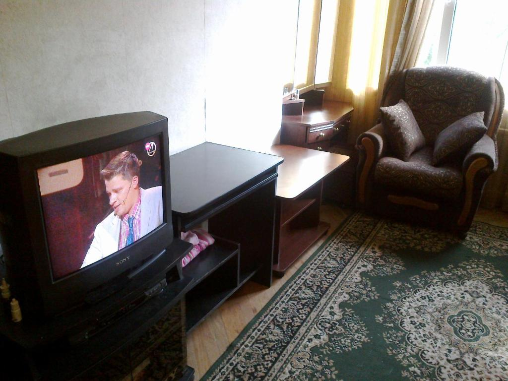 Гостиная зона в Apartment On Khoshimina 13