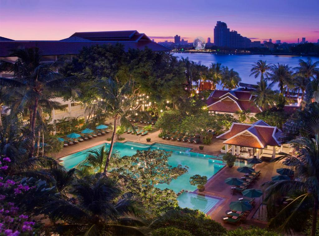A view of the pool at Anantara Riverside Bangkok Resort - SHA Certified or nearby