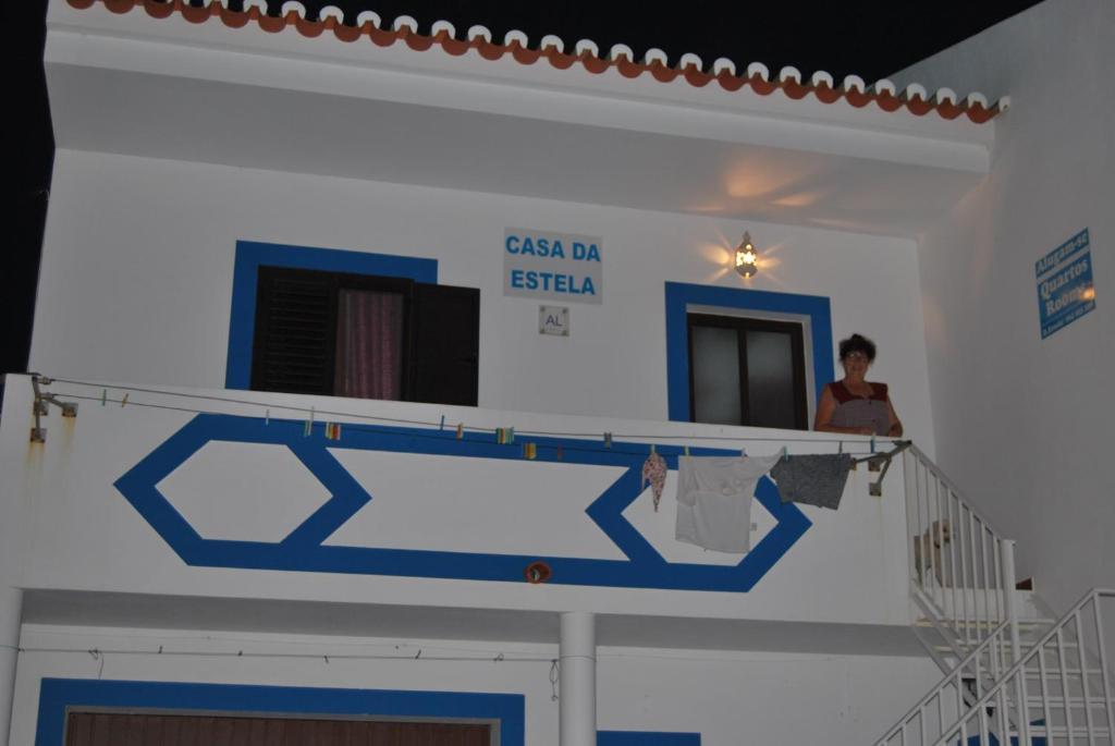 El vestíbulo o zona de recepción de Casa Da Estela