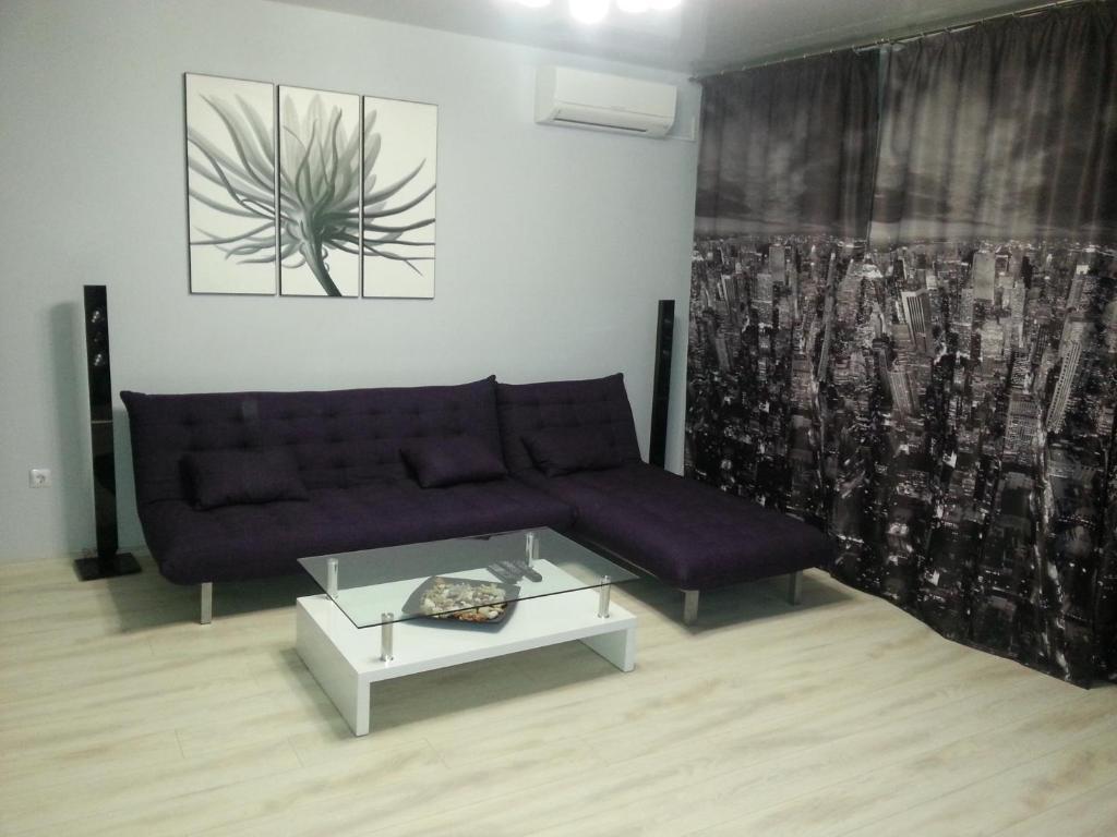 Гостиная зона в Apartments Amigos