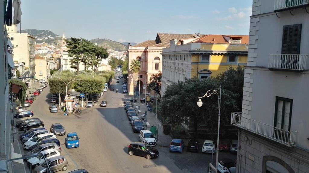 A balcony or terrace at Indipendenza