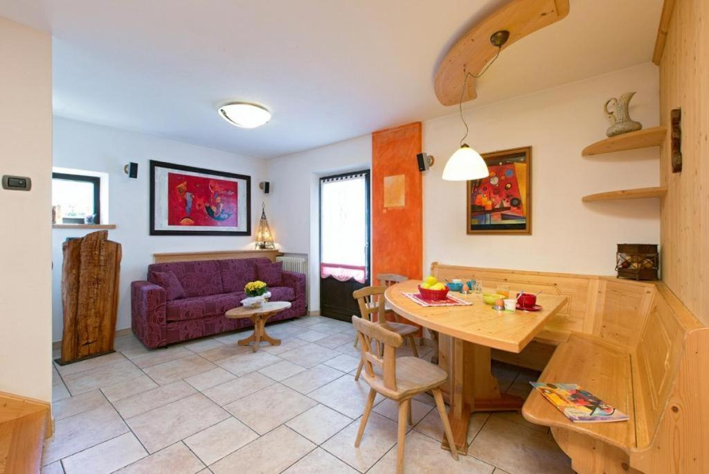 Posezení v ubytování Art Apartments Kandinsky