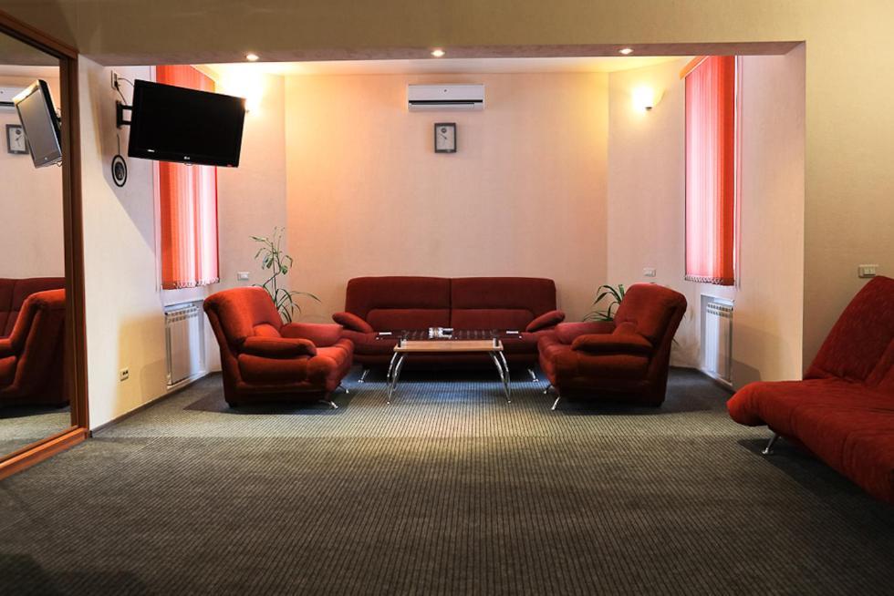 Гостиная зона в Мини отель Три Кита