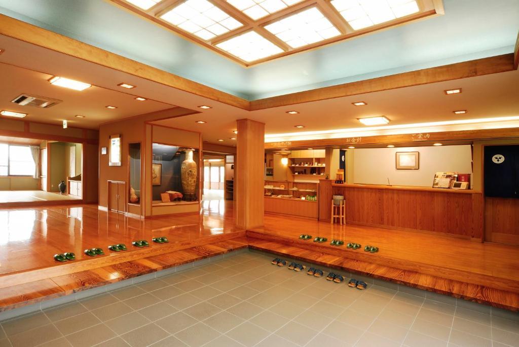The lobby or reception area at Yukawaya