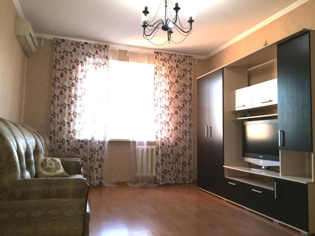 Гостиная зона в Apartment Belomorskiye