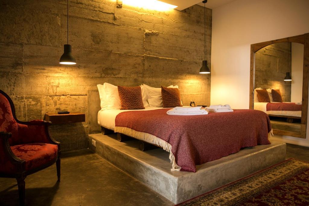 Um quarto em 54 Santa Catarina Apartments
