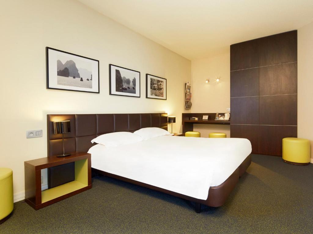 キリアド ホテル オルリー アエロポルト - アティ モンにあるベッド