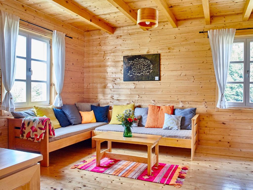 A seating area at Holiday Homes Vita Natura