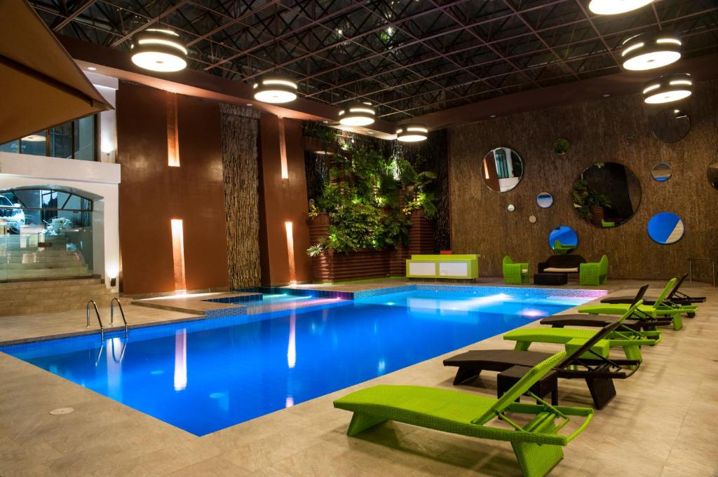 The swimming pool at or near Hotel Grand Park