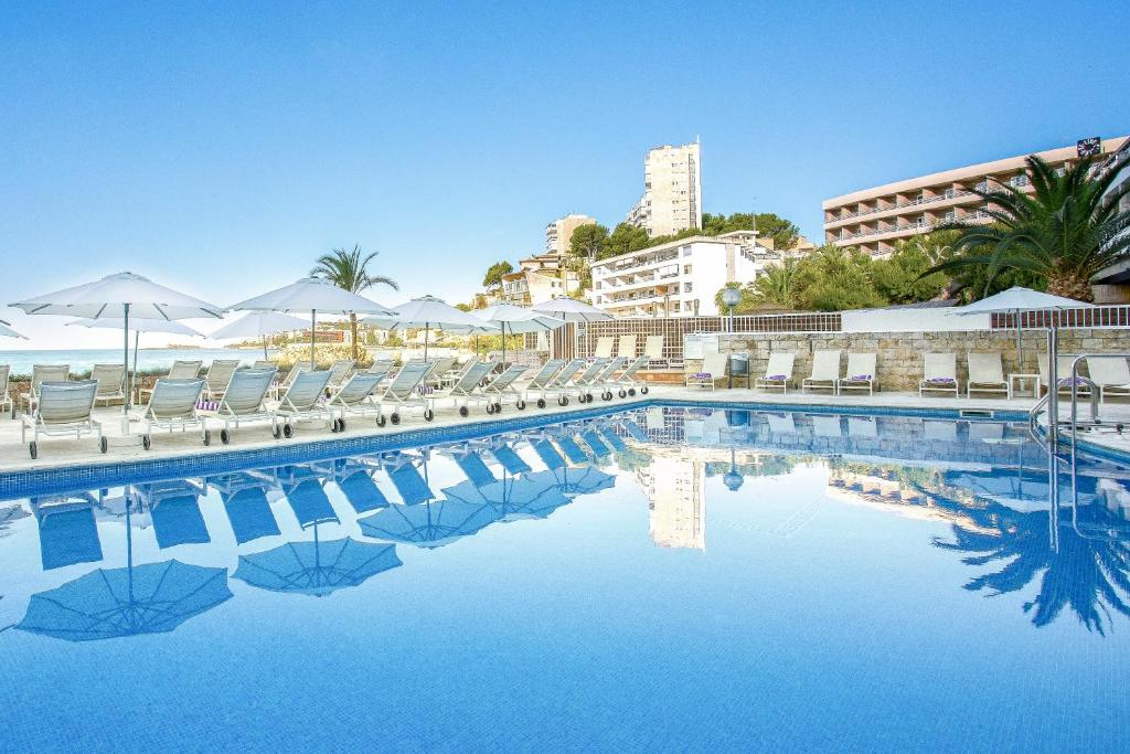 The swimming pool at or near Hotel Be Live Adults Only Marivent