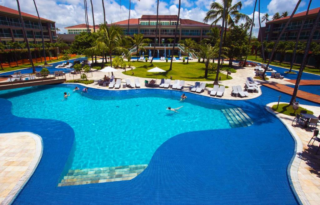 A view of the pool at Enotel Porto de Galinhas or nearby
