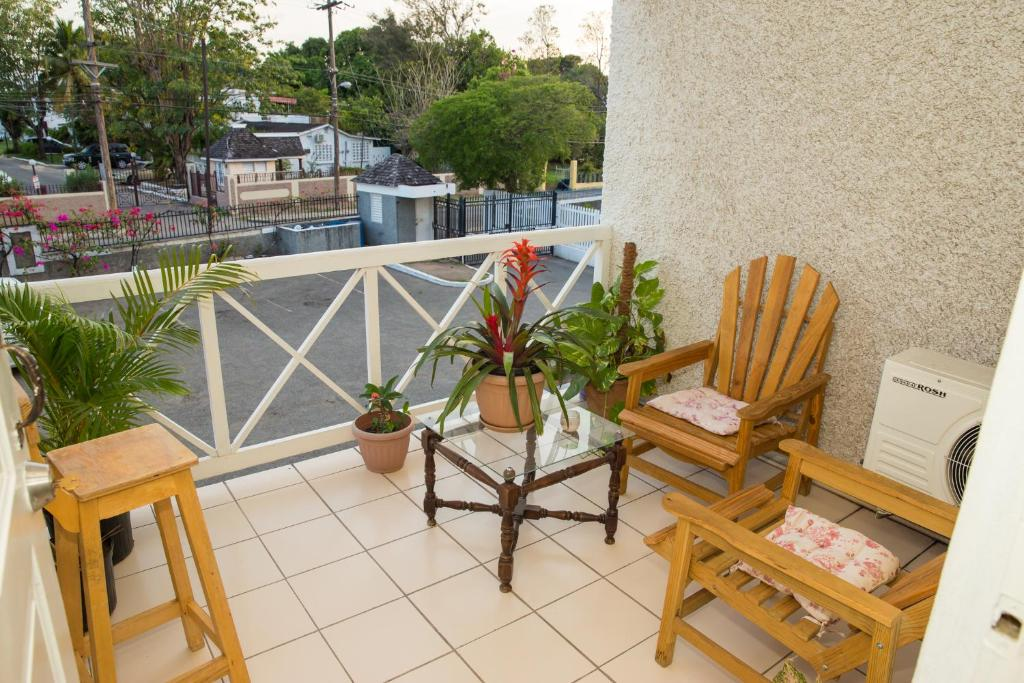 A patio or other outdoor area at Cozy Waterloo Apartment