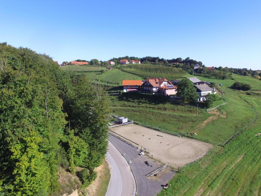A bird's-eye view of Guesthouse Kaučič
