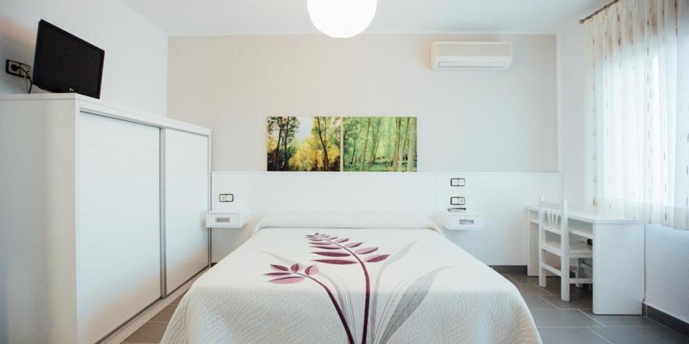 A room at Posada Peñarubia