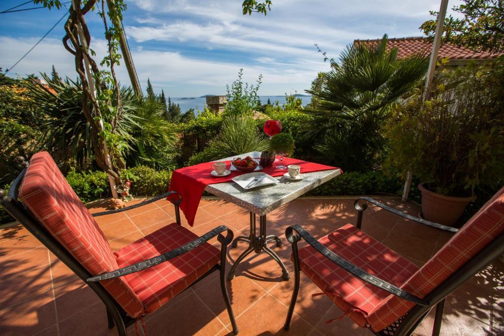 A patio or other outdoor area at Villa Mediterranea - Garden Suite
