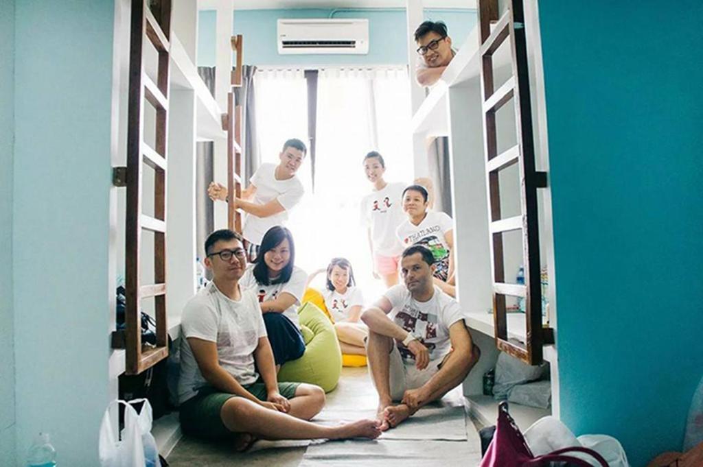 Guests staying at Langkawi Dormitorio