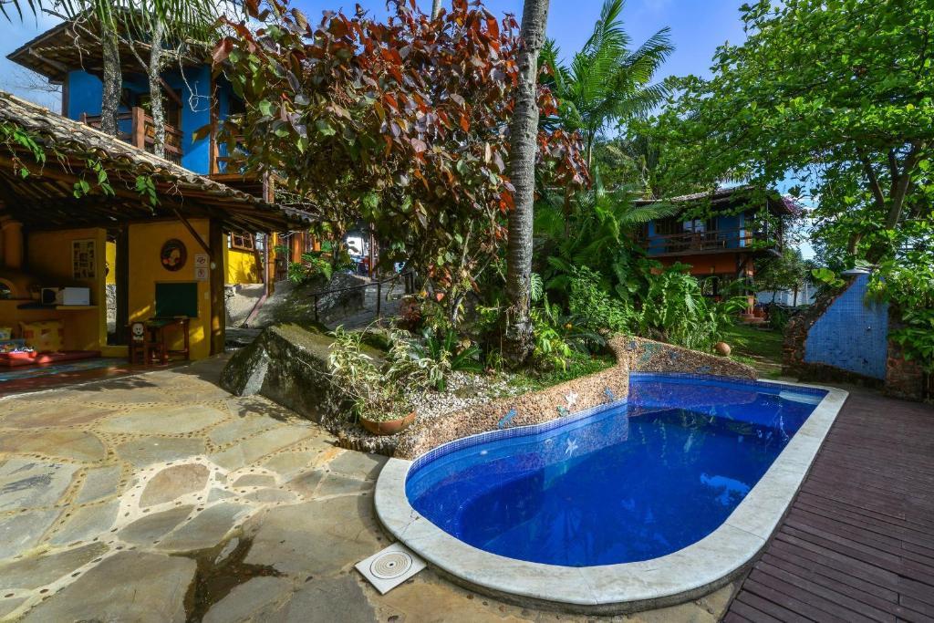 The swimming pool at or near Pousada Villa Da Prainha
