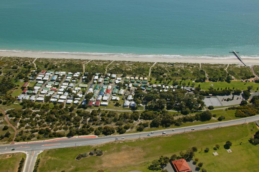 A bird's-eye view of Discovery Parks - Coogee Beach