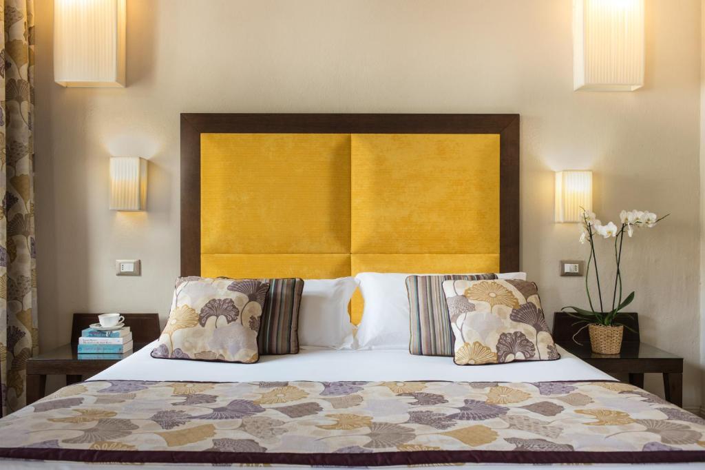 Um quarto em Hotel Perseo