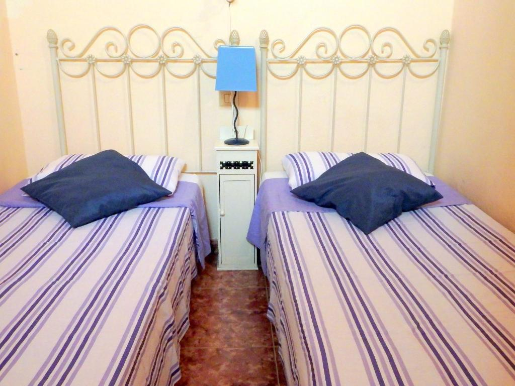 Cama o camas de una habitación en Casa La Bodeguilla