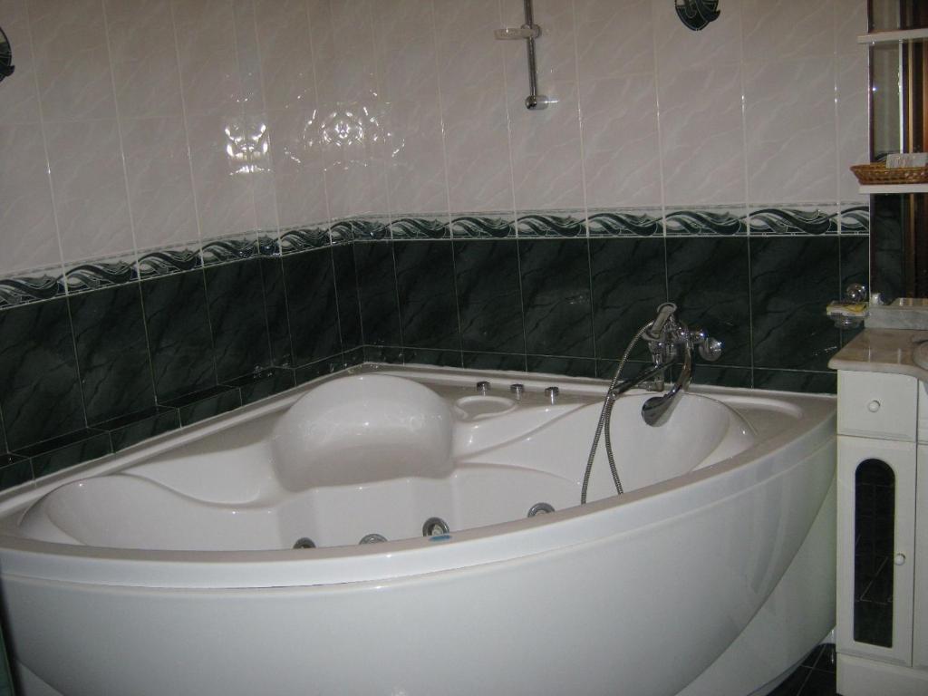Ванная комната в Гостиничный комплекс Трек