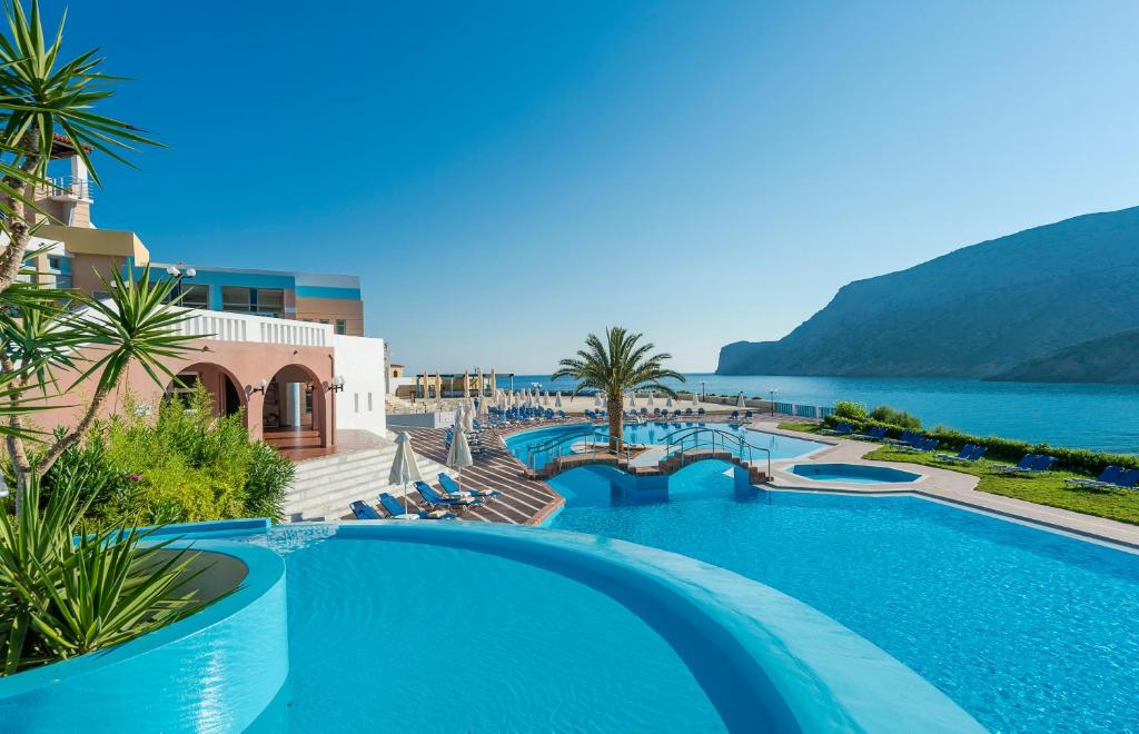 Πισίνα στο ή κοντά στο Fodele Beach Water Park Resort