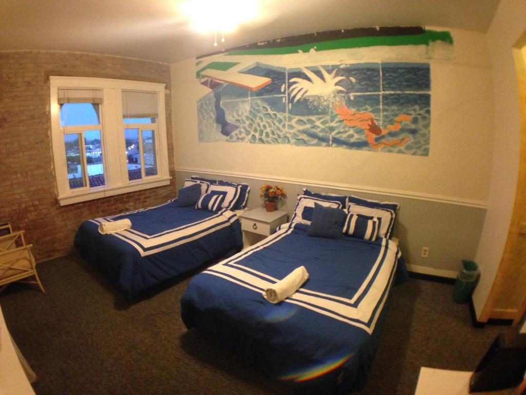 Hébergement de l'établissement Venice Beach Hostel