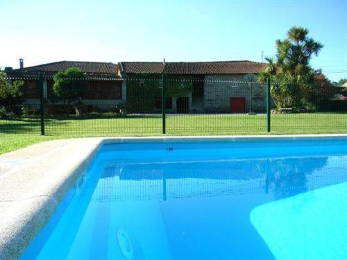 The swimming pool at or near Casa de Requeixo