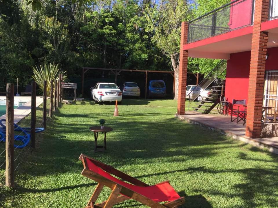 A garden outside Ayma