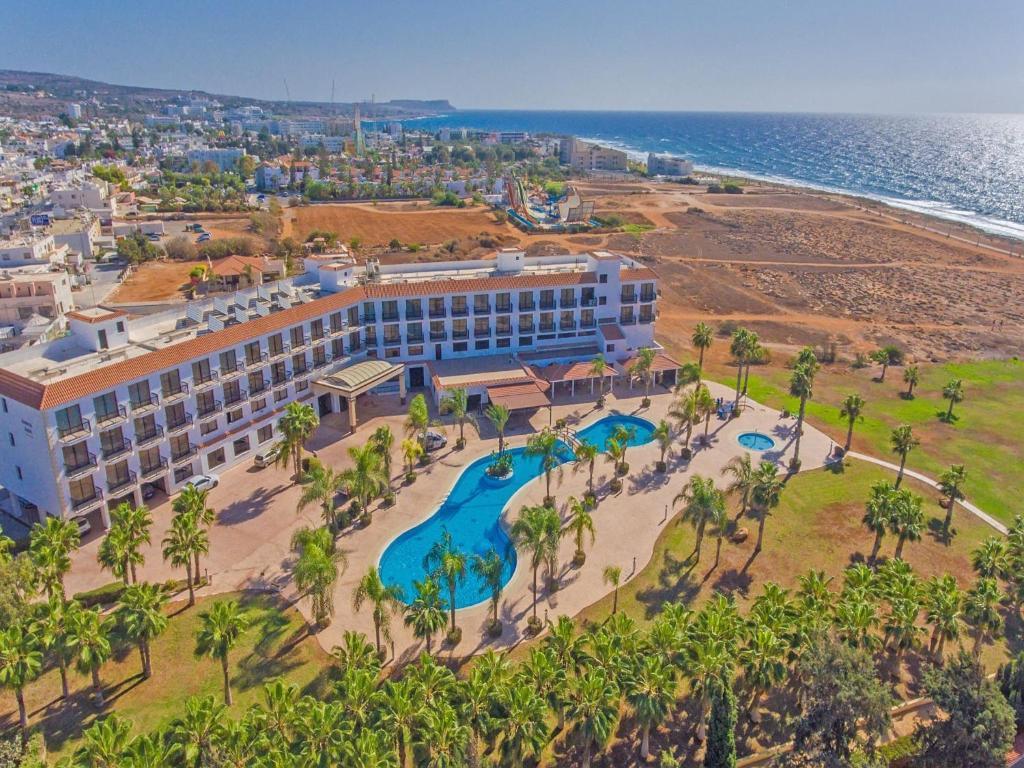 A bird's-eye view of Anmaria Beach Hotel
