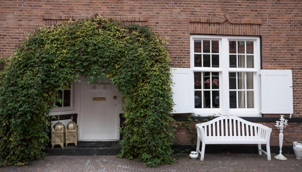 A patio or other outdoor area at Apartment Naarden-Vesting