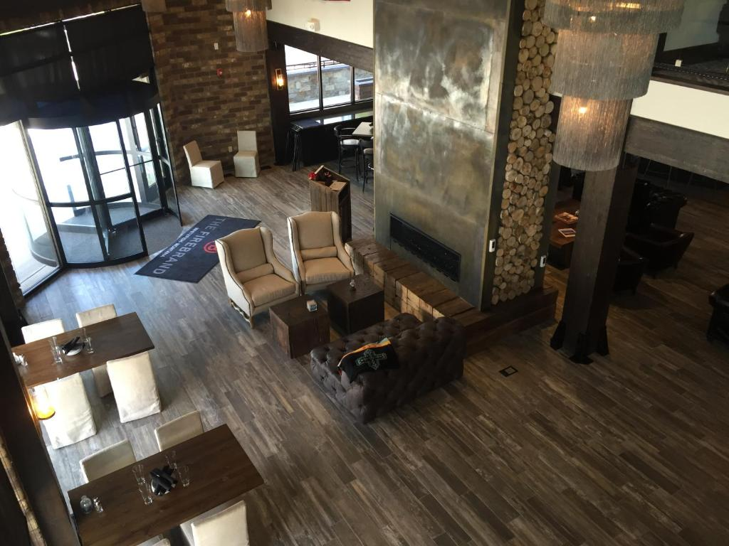 A seating area at Firebrand Hotel