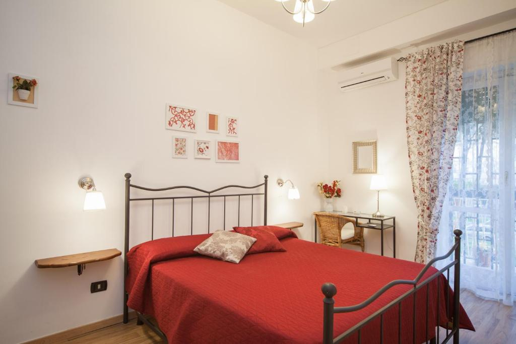 A bed or beds in a room at Anthea
