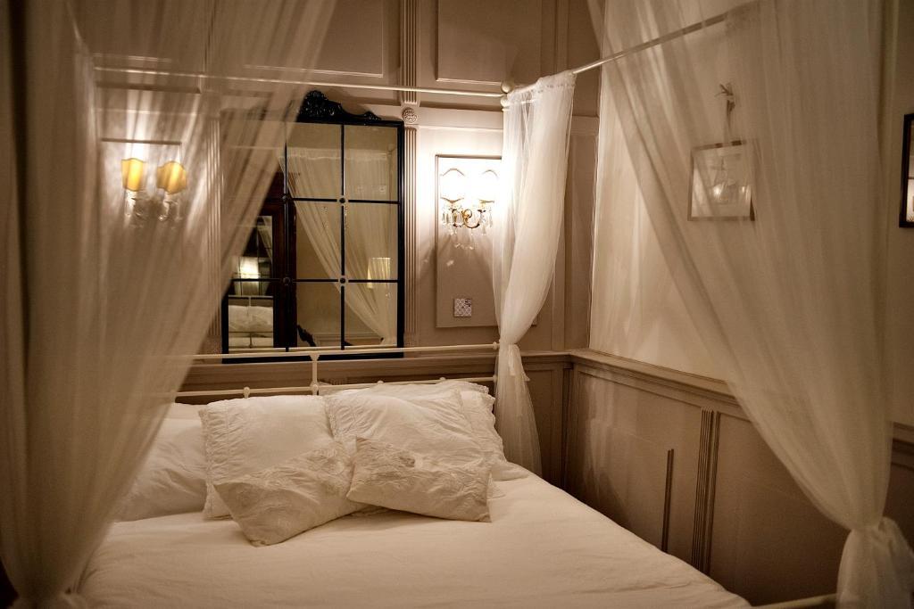 Letto o letti in una camera di Oltrarno Florence Apartment
