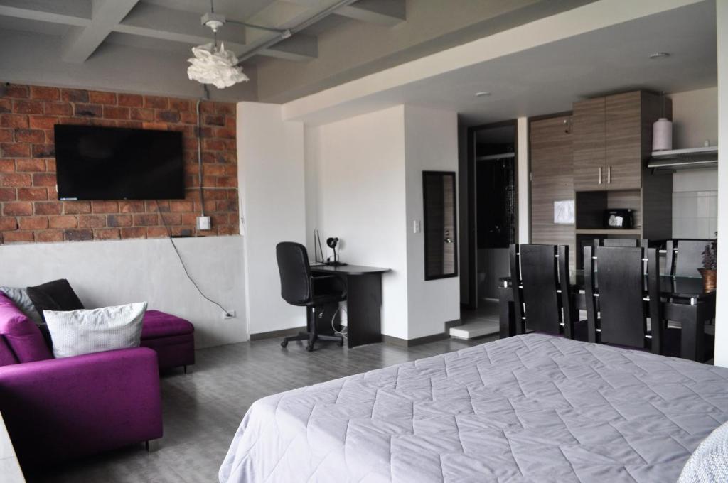 A room at Gardenia Apartments