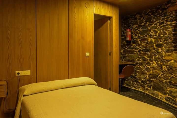 Cama o camas de una habitación en Palloza Baltasar
