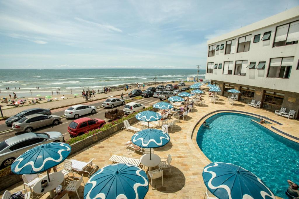 A view of the pool at Dunas Praia Hotel or nearby