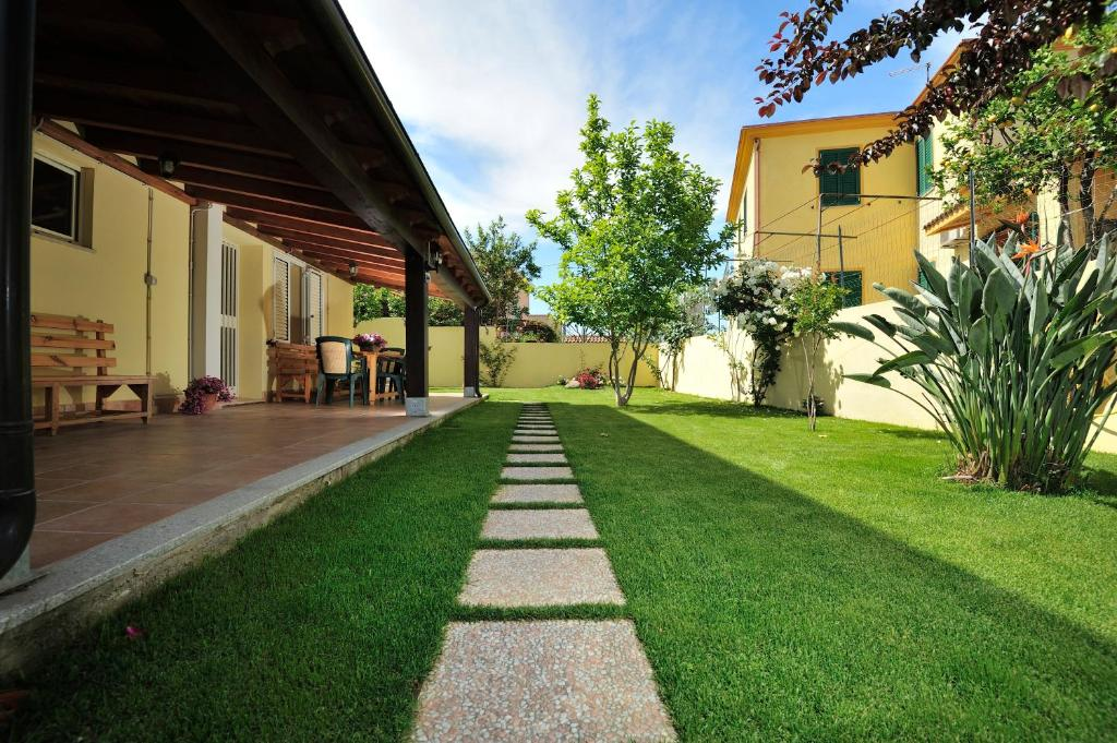 A porch or other outdoor area at Casa Vacanze Mameli