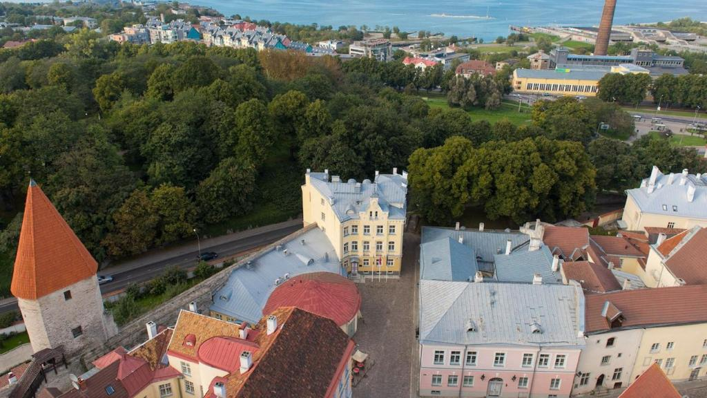 A bird's-eye view of Rija Old Town Hotel