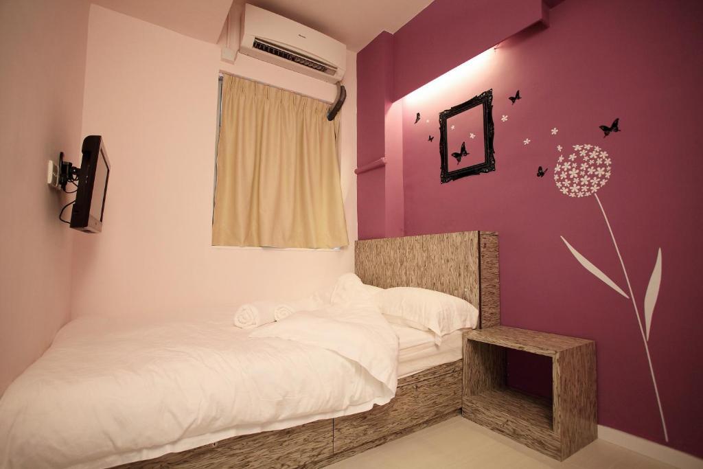 Ein Bett oder Betten in einem Zimmer der Unterkunft InnSight
