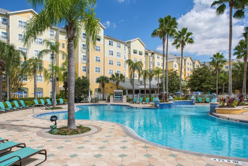 The swimming pool at or near Residence Inn by Marriott Orlando at SeaWorld