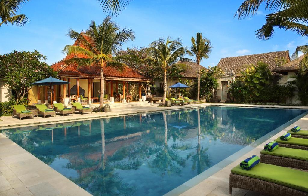 The swimming pool at or close to Sudamala Resort, Sanur, Bali