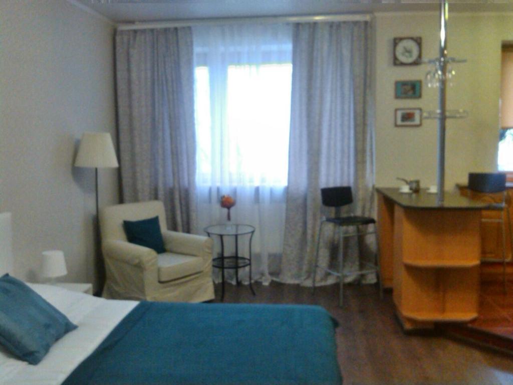 Гостиная зона в Сеть апартаментов Star House Б Khmelnitskogo 79