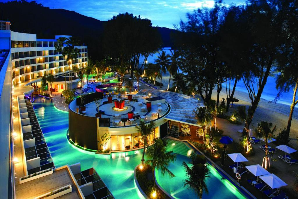 A view of the pool at Hard Rock Hotel Penang or nearby
