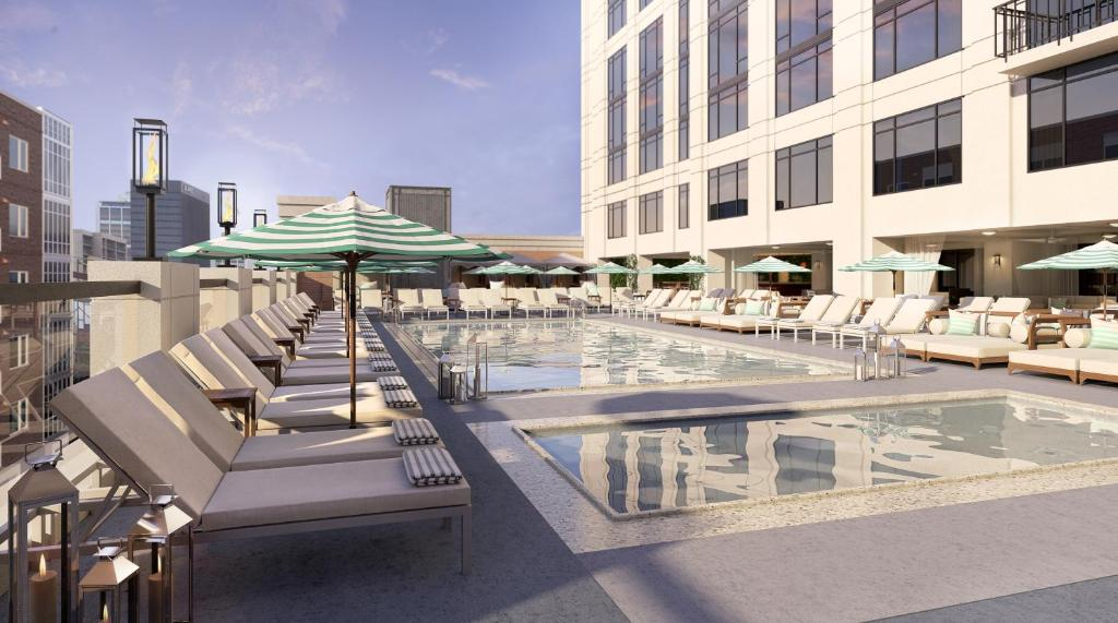 The swimming pool at or near Pendry San Diego